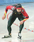 Subject: Andreas Behr; Tags: Start, Starting, Sport, Herren, Men, Gentlemen, Mann, Männer, Gents, Sirs, Mister, GER, Germany, Deutschland, Eisschnelllauf, Speed skating, Schaatsen, Ehemalige, Detail, Athlet, Athlete, Sportler, Wettkämpfer, Sportsman, Andreas Behr; PhotoID: 2003-12-29-051