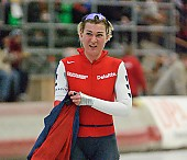 Subject: Barbara de Loor; Tags: Sport, NED, Netherlands, Niederlande, Holland, Dutch, Eisschnelllauf, Speed skating, Schaatsen, Damen, Ladies, Frau, Mesdames, Female, Women, Barbara de Loor, Athlet, Athlete, Sportler, Wettkämpfer, Sportsman; PhotoID: 2004-02-21-415