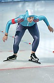 Subject: Katharina Frohberg; Tags: Start, Starting, Sport, Katharina Frohberg, GER, Germany, Deutschland, Eisschnelllauf, Speed skating, Schaatsen, Ehemalige, Detail, Damen, Ladies, Frau, Mesdames, Female, Women, Athlet, Athlete, Sportler, Wettkämpfer, Sportsman; PhotoID: 2004-10-16-056