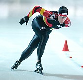 Subject: Katrin Mattscherodt; Tags: Sport, Katrin Mattscherodt, GER, Germany, Deutschland, Eisschnelllauf, Speed skating, Schaatsen, Damen, Ladies, Frau, Mesdames, Female, Women, Athlet, Athlete, Sportler, Wettkämpfer, Sportsman; PhotoID: 2004-10-16-136