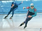 Subject: Isabell Ost; Tags: Sport, Isabell Ost, GER, Germany, Deutschland, Eisschnelllauf, Speed skating, Schaatsen, Damen, Ladies, Frau, Mesdames, Female, Women, Athlet, Athlete, Sportler, Wettkämpfer, Sportsman; PhotoID: 2004-10-23-008