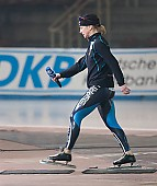Subject: Claudia Pechstein; Tags: Sport, GER, Germany, Deutschland, Eisschnelllauf, Speed skating, Schaatsen, Damen, Ladies, Frau, Mesdames, Female, Women, Claudia Pechstein, Athlet, Athlete, Sportler, Wettkämpfer, Sportsman; PhotoID: 2005-03-17-0045