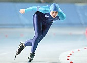 Subject: Kamila Danaj; Tags: Sport, POL, Poland, Polen, Kamila Danaj, Eisschnelllauf, Speed skating, Schaatsen, Damen, Ladies, Frau, Mesdames, Female, Women, Athlet, Athlete, Sportler, Wettkämpfer, Sportsman; PhotoID: 2005-10-14-0063