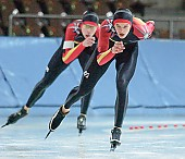 Subject: Eric Rauschenbach, Philipp Kozalla; Tags: Sport, Philipp Kozalla, Herren, Men, Gentlemen, Mann, Männer, Gents, Sirs, Mister, GER, Germany, Deutschland, Eric Rauschenbach, Eisschnelllauf, Speed skating, Schaatsen, Ehemalige, Athlet, Athlete, Sportler, Wettkämpfer, Sportsman; PhotoID: 2005-11-26-1595