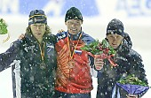 Subject: Dmitrij Dorofejev, Gerard van Velde, Stefan Groothuis Siegerehrung 1000m 1. Tag; Tags: Stefan Groothuis, Sport, Siegerehrung, Victory ceremony, Preisverleihung, Ehrung, Award ceremony, Award, Prize Giving, RUS, Russian Federation, Russische Föderation, Russia, NED, Netherlands, Niederlande, Holland, Dutch, Herren, Men, Gentlemen, Mann, Männer, Gents, Sirs, Mister, Gerard van Velde, Eisschnelllauf, Speed skating, Schaatsen, Dmitrij Dorofejev, Detail, Athlet, Athlete, Sportler, Wettkämpfer, Sportsman; PhotoID: 2005-12-17-3140