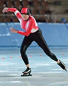 Subject: Iris Manthee; Tags: Sport, Iris Hanisch, GER, Germany, Deutschland, Eisschnelllauf, Speed skating, Schaatsen, Damen, Ladies, Frau, Mesdames, Female, Women, Athlet, Athlete, Sportler, Wettkämpfer, Sportsman; PhotoID: 2006-01-14-0273
