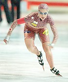 Subject: Justine L'Heureux; Tags: Sport, Justine L'Heureux, Eisschnelllauf, Speed skating, Schaatsen, Damen, Ladies, Frau, Mesdames, Female, Women, CAN, Canada, Kanada, Athlet, Athlete, Sportler, Wettkämpfer, Sportsman; PhotoID: 2006-03-11-0551