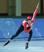 Motiv: Stefanie Nagel; Tags: Stefanie Nagel, Sport, GER, Germany, Deutschland, Eisschnelllauf, Speed skating, Schaatsen, Ehemalige, Damen, Ladies, Frau, Mesdames, Female, Women, Athlet, Athlete, Sportler, Wettkämpfer, Sportsman; PhotoID: 2006-10-22-0161