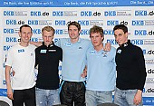 Subject: Anton Hahn, Jens Boden, Robert Lehmann, Stefan Heythausen, Tobias Schneider; Tags: Tobias Schneider, Stefan Heythausen, Sport, Robert Lehmann, Pressekonferenz, Press conference, Media conference, Jens Boden, Herren, Men, Gentlemen, Mann, Männer, Gents, Sirs, Mister, GER, Germany, Deutschland, Eisschnelllauf, Speed skating, Schaatsen, Ehemalige, Detail, Athlet, Athlete, Sportler, Wettkämpfer, Sportsman, Anton Hahn; PhotoID: 2006-11-02-0025