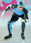 Subject: Denny Ihle; Tags: Start, Starting, Sport, Herren, Men, Gentlemen, Mann, Männer, Gents, Sirs, Mister, GER, Germany, Deutschland, Eisschnelllauf, Speed skating, Schaatsen, Detail, Denny Ihle, Athlet, Athlete, Sportler, Wettkämpfer, Sportsman; PhotoID: 2006-11-17-0075