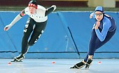 Subject: Anneke ten Hove, Gina Marhold; Tags: Sport, NED, Netherlands, Niederlande, Holland, Dutch, Gina Marhold, GER, Germany, Deutschland, Eisschnelllauf, Speed skating, Schaatsen, Ehemalige, Damen, Ladies, Frau, Mesdames, Female, Women, Athlet, Athlete, Sportler, Wettkämpfer, Sportsman, Anneke Ten Hove; PhotoID: 2007-01-27-0208