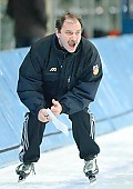 Subject: Uwe Sauerteig; Tags: Uwe Sauerteig, Trainer, Coach, Betreuer, Sport, GER, Germany, Deutschland, Eisschnelllauf, Speed skating, Schaatsen, Detail, Coaching; PhotoID: 2007-02-02-0351
