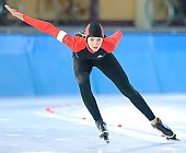 Motiv: Stefanie Nagel; Tags: Stefanie Nagel, Sport, GER, Germany, Deutschland, Eisschnelllauf, Speed skating, Schaatsen, Ehemalige, Damen, Ladies, Frau, Mesdames, Female, Women, Athlet, Athlete, Sportler, Wettkämpfer, Sportsman; PhotoID: 2007-10-20-0748