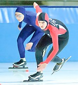 Motiv: Stefanie Nagel; Tags: Stefanie Nagel, Sport, GER, Germany, Deutschland, Eisschnelllauf, Speed skating, Schaatsen, Ehemalige, Damen, Ladies, Frau, Mesdames, Female, Women, Athlet, Athlete, Sportler, Wettkämpfer, Sportsman; PhotoID: 2007-11-11-0007