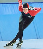 Motiv: Stefanie Nagel; Tags: Stefanie Nagel, Sport, GER, Germany, Deutschland, Eisschnelllauf, Speed skating, Schaatsen, Ehemalige, Damen, Ladies, Frau, Mesdames, Female, Women, Athlet, Athlete, Sportler, Wettkämpfer, Sportsman; PhotoID: 2007-11-11-0182