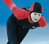 Motiv: Stefanie Nagel; Tags: Stefanie Nagel, Sport, GER, Germany, Deutschland, Eisschnelllauf, Speed skating, Schaatsen, Ehemalige, Damen, Ladies, Frau, Mesdames, Female, Women, Athlet, Athlete, Sportler, Wettkämpfer, Sportsman; PhotoID: 2007-11-25-0384