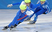 Motiv: Peter Anderl, Wietse Visser; Tags: Wietse Visser, Sport, Shorttrack, Short Track, Peter Anderl, NED, Netherlands, Niederlande, Holland, Dutch, Herren, Men, Gentlemen, Mann, Männer, Gents, Sirs, Mister, GER, Germany, Deutschland, Athlet, Athlete, Sportler, Wettkämpfer, Sportsman; PhotoID: 2007-12-14-0462