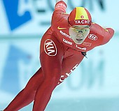 Subject: Shuang Zhang; Tags: Sport, Shuang Zhang, Eisschnelllauf, Speed skating, Schaatsen, Damen, Ladies, Frau, Mesdames, Female, Women, CHN, China, Volksrepublik China, Athlet, Athlete, Sportler, Wettkämpfer, Sportsman; PhotoID: 2007-12-15-0823