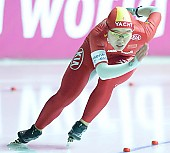 Subject: Shuang Zhang; Tags: Sport, Shuang Zhang, Eisschnelllauf, Speed skating, Schaatsen, Damen, Ladies, Frau, Mesdames, Female, Women, CHN, China, Volksrepublik China, Athlet, Athlete, Sportler, Wettkämpfer, Sportsman; PhotoID: 2007-12-16-0305