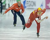 Subject: Shuang Zhang; Tags: Sport, Shuang Zhang, Eisschnelllauf, Speed skating, Schaatsen, Damen, Ladies, Frau, Mesdames, Female, Women, CHN, China, Volksrepublik China, Athlet, Athlete, Sportler, Wettkämpfer, Sportsman; PhotoID: 2008-01-19-1836