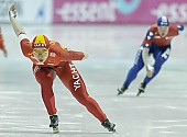 Subject: Shuang Zhang; Tags: Sport, Shuang Zhang, Eisschnelllauf, Speed skating, Schaatsen, Damen, Ladies, Frau, Mesdames, Female, Women, CHN, China, Volksrepublik China, Athlet, Athlete, Sportler, Wettkämpfer, Sportsman; PhotoID: 2008-01-19-1840