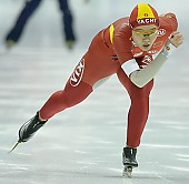 Subject: Shuang Zhang; Tags: Sport, Shuang Zhang, Eisschnelllauf, Speed skating, Schaatsen, Damen, Ladies, Frau, Mesdames, Female, Women, CHN, China, Volksrepublik China, Athlet, Athlete, Sportler, Wettkämpfer, Sportsman; PhotoID: 2008-01-19-1842