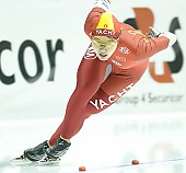 Subject: Shuang Zhang; Tags: Sport, Shuang Zhang, Eisschnelllauf, Speed skating, Schaatsen, Damen, Ladies, Frau, Mesdames, Female, Women, CHN, China, Volksrepublik China, Athlet, Athlete, Sportler, Wettkämpfer, Sportsman; PhotoID: 2008-02-22-0112