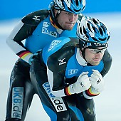Subject: Jörg Dallmann, Tobias Schneider; Tags: Training, Preparation, Ausbildung, Vorbereitung, Breeding, Education, Tobias Schneider, Sport, Shorttrack, Short Track, Jörg Dallmann, Herren, Men, Gentlemen, Mann, Männer, Gents, Sirs, Mister, GER, Germany, Deutschland, Eisschnelllauf, Speed skating, Schaatsen, Detail, Athlet, Athlete, Sportler, Wettkämpfer, Sportsman; PhotoID: 2008-07-30-0132