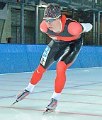 Subject: Robert Lehmann; Tags: Training, Preparation, Ausbildung, Vorbereitung, Breeding, Education, Sport, Robert Lehmann, Herren, Men, Gentlemen, Mann, Männer, Gents, Sirs, Mister, GER, Germany, Deutschland, Eisschnelllauf, Speed skating, Schaatsen, Detail, Athlet, Athlete, Sportler, Wettkämpfer, Sportsman; PhotoID: 2008-10-03-0017