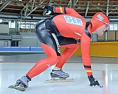 Subject: Jörg Dallmann; Tags: Start, Starting, Sport, Jörg Dallmann, Herren, Men, Gentlemen, Mann, Männer, Gents, Sirs, Mister, GER, Germany, Deutschland, Eisschnelllauf, Speed skating, Schaatsen, Detail, Athlet, Athlete, Sportler, Wettkämpfer, Sportsman; PhotoID: 2008-10-03-0024