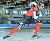 Subject: Frank Steiner; Tags: Start, Starting, Sport, Herren, Men, Gentlemen, Mann, Männer, Gents, Sirs, Mister, GER, Germany, Deutschland, Frank Steiner, Eisschnelllauf, Speed skating, Schaatsen, Detail, Athlet, Athlete, Sportler, Wettkämpfer, Sportsman; PhotoID: 2008-10-03-0091