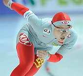 Subject: Shuang Zhang; Tags: Sport, Shuang Zhang, Eisschnelllauf, Speed skating, Schaatsen, Damen, Ladies, Frau, Mesdames, Female, Women, CHN, China, Volksrepublik China, Athlet, Athlete, Sportler, Wettkämpfer, Sportsman; PhotoID: 2008-11-08-1023