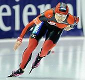 Subject: Tomomi Okazaki; Tags: Tomomi Okazaki, Sport, JPN, Japan, Nippon, Eisschnelllauf, Speed skating, Schaatsen, Damen, Ladies, Frau, Mesdames, Female, Women, Athlet, Athlete, Sportler, Wettkämpfer, Sportsman; PhotoID: 2008-11-14-0144