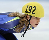 Subject: Hanne van Hijfte; Tags: Sport, Shorttrack, Short Track, NED, Netherlands, Niederlande, Holland, Dutch, Hanne van Hijfte, Gesichter, Face, Close up, Antlitz, Konterfei, Visage, Detail, Damen, Ladies, Frau, Mesdames, Female, Women, Athlet, Athlete, Sportler, Wettkämpfer, Sportsman; PhotoID: 2008-12-13-0008