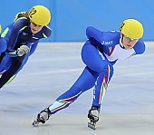 Subject: Hanne van Hijfte, Josephine Meschnik; Tags: Sport, Shorttrack, Short Track, NED, Netherlands, Niederlande, Holland, Dutch, Josephine Meschnik, ITA, Italy, Italien, Hanne van Hijfte, Damen, Ladies, Frau, Mesdames, Female, Women, Athlet, Athlete, Sportler, Wettkämpfer, Sportsman; PhotoID: 2008-12-13-0028