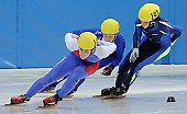 Subject: Peter Anderl, Sam Vanspeybroeck; Tags: Sport, Shorttrack, Short Track, Sam Vanspeybroeck, Peter Anderl, Herren, Men, Gentlemen, Mann, Männer, Gents, Sirs, Mister, GER, Germany, Deutschland, BEL, Belgium, Belgien, Athlet, Athlete, Sportler, Wettkämpfer, Sportsman; PhotoID: 2008-12-13-0054