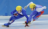 Subject: Peter Anderl, Roberto Anzi; Tags: Sport, Shorttrack, Short Track, Roberto Anzi, Peter Anderl, ITA, Italy, Italien, Herren, Men, Gentlemen, Mann, Männer, Gents, Sirs, Mister, GER, Germany, Deutschland, Athlet, Athlete, Sportler, Wettkämpfer, Sportsman; PhotoID: 2008-12-13-0060