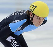 Subject: Koen Hakkenberg; Tags: Sport, Shorttrack, Short Track, NED, Netherlands, Niederlande, Holland, Dutch, Koen Hakkenberg, Herren, Men, Gentlemen, Mann, Männer, Gents, Sirs, Mister, Gesichter, Face, Close up, Antlitz, Konterfei, Visage, Detail, Athlet, Athlete, Sportler, Wettkämpfer, Sportsman; PhotoID: 2008-12-13-0113