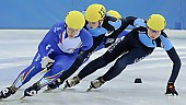 Subject: Davide Viscardi, Jan-Ebele van der Ree; Tags: Sport, Shorttrack, Short Track, NED, Netherlands, Niederlande, Holland, Dutch, Jan Ebele van der Ree, ITA, Italy, Italien, Herren, Men, Gentlemen, Mann, Männer, Gents, Sirs, Mister, Davide Viscardi, Athlet, Athlete, Sportler, Wettkämpfer, Sportsman; PhotoID: 2008-12-13-0137