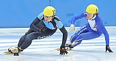 Subject: Davide Viscardi, Jan-Ebele van der Ree; Tags: Sport, Shorttrack, Short Track, NED, Netherlands, Niederlande, Holland, Dutch, Jan Ebele van der Ree, ITA, Italy, Italien, Herren, Men, Gentlemen, Mann, Männer, Gents, Sirs, Mister, Davide Viscardi, Athlet, Athlete, Sportler, Wettkämpfer, Sportsman; PhotoID: 2008-12-13-0142