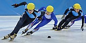 Subject: Davide Viscardi, Jan-Ebele van der Ree; Tags: Sport, Shorttrack, Short Track, NED, Netherlands, Niederlande, Holland, Dutch, Jan Ebele van der Ree, ITA, Italy, Italien, Herren, Men, Gentlemen, Mann, Männer, Gents, Sirs, Mister, Davide Viscardi, Athlet, Athlete, Sportler, Wettkämpfer, Sportsman; PhotoID: 2008-12-13-0148