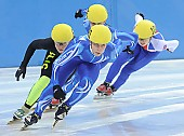 Subject: Anke Hartmann, Julia Riedel; Tags: Shorttrack, Short Track, Julia Riedel, GER, Germany, Deutschland, Ehemalige, Damen, Ladies, Frau, Mesdames, Female, Women, Athlet, Athlete, Sportler, Wettkämpfer, Sportsman, Anke Hartmann, Sport; PhotoID: 2008-12-13-0180