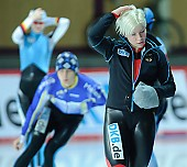 Subject: Isabell Ost; Tags: Sport, Isabell Ost, Gesichter, Face, Close up, Antlitz, Konterfei, Visage, GER, Germany, Deutschland, Eisschnelllauf, Speed skating, Schaatsen, Detail, Damen, Ladies, Frau, Mesdames, Female, Women, Athlet, Athlete, Sportler, Wettkämpfer, Sportsman; PhotoID: 2008-12-19-0051