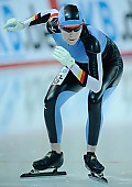 Subject: Justine Zeiske; Tags: Start, Starting, Sport, Justine Zeiske, GER, Germany, Deutschland, Eisschnelllauf, Speed skating, Schaatsen, Detail, Damen, Ladies, Frau, Mesdames, Female, Women, Athlet, Athlete, Sportler, Wettkämpfer, Sportsman; PhotoID: 2008-12-19-0058