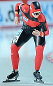 Subject: Isabell Ost; Tags: Start, Starting, Sport, Isabell Ost, GER, Germany, Deutschland, Eisschnelllauf, Speed skating, Schaatsen, Detail, Damen, Ladies, Frau, Mesdames, Female, Women, Athlet, Athlete, Sportler, Wettkämpfer, Sportsman; PhotoID: 2008-12-19-0093