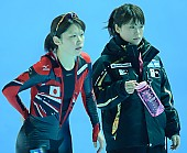 Motiv: Sayuri Osuga; Tags: Sport, Sayuri Osuga, JPN, Japan, Nippon, Gesichter, Face, Close up, Antlitz, Konterfei, Visage, Eisschnelllauf, Speed skating, Schaatsen, Detail, Damen, Ladies, Frau, Mesdames, Female, Women, Coaching, Athlet, Athlete, Sportler, Wettkämpfer, Sportsman; PhotoID: 2009-01-31-1089