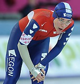Subject: Paulien van Deutekom; Tags: Sport, Paulien van Deutekom, NED, Netherlands, Niederlande, Holland, Dutch, Erschöpfung, Depletion, Müde, Exhaustion, Emotion, Emotion, Gefühle, Empfindung, Sentiment, Feeling, Sensation, Passion, Eisschnelllauf, Speed skating, Schaatsen, Damen, Ladies, Frau, Mesdames, Female, Women, Athlet, Athlete, Sportler, Wettkämpfer, Sportsman; PhotoID: 2009-02-07-1573