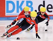 Subject: Bianca Walter; Tags: Sport, Shorttrack, Short Track, GER, Germany, Deutschland, Damen, Ladies, Frau, Mesdames, Female, Women, Bianca Walter, Athlet, Athlete, Sportler, Wettkämpfer, Sportsman; PhotoID: 2009-02-13-0168
