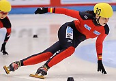 Subject: Bianca Walter; Tags: Sport, Shorttrack, Short Track, GER, Germany, Deutschland, Damen, Ladies, Frau, Mesdames, Female, Women, Bianca Walter, Athlet, Athlete, Sportler, Wettkämpfer, Sportsman; PhotoID: 2009-02-13-0171