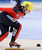 Subject: Bianca Walter; Tags: Sport, Shorttrack, Short Track, GER, Germany, Deutschland, Damen, Ladies, Frau, Mesdames, Female, Women, Bianca Walter, Athlet, Athlete, Sportler, Wettkämpfer, Sportsman; PhotoID: 2009-02-13-0195